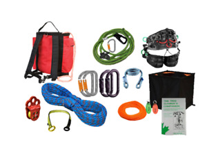 Professional Arborist Tree Climbing Kit Treemotion Super Light Harness One Size