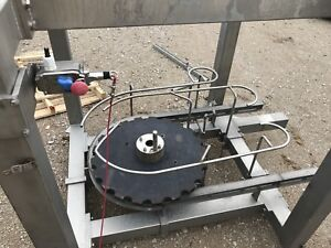 Stainless Steel Overhead Conveyor Tensioner With Wash Off