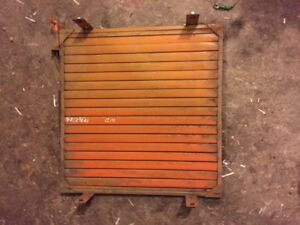 Allis Chalmers Wd 45 Tractor Ac Front Radiator Nose Grill Shutters Shutter Wd45