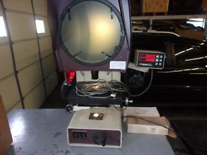 Scherr Tumico Optical Comparator Model 20 4600 120 Volt Cycles 50 60 3 Amp
