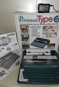 Brother Py 75 Portable Personal Typewriter Electronic