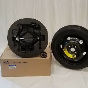 2017 Oem Hyundai Accent 4 dr Or Hatch Spare Tire Kit Tire Mounted 1rf40 ac910