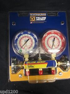 Yellow Jacket 42001 2 Valve Test And Charging Manifold