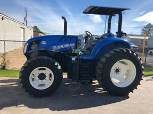 2016 New Holland Ts6 110 Row crop Tractor 110hp 4 cyl Diesel 8x8 Powershuttle