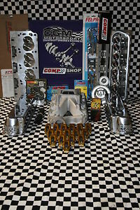 Sbf 302 Aluminum Head Roller Cam Ford Top Engine Kit
