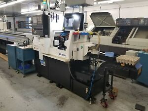 Used 2015 20mm Five Axis Swiss Type Cnc Screw Machine In Excellent Condition