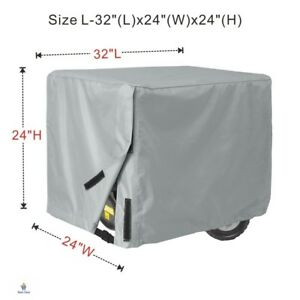Generator Cover Waterproof Universal Large Porch Shield 5000 To 9500 Watt New