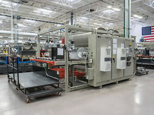 Maac C75de Comet Double Ender Thermoforming Vacuum Forming Shuttle Machine