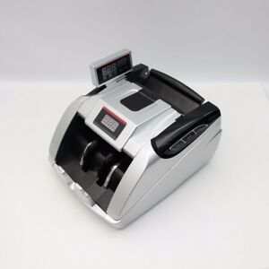 Money Bill Cash Counter Machine Multiple Currency Counterfeit Detector Uv