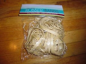New 100 Grams Assorted Size Rubber Bands Tangle Free Long Lasting Quality