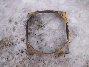 International Cub 154 Low Boy Tractor Ih Radiator Fan Shroud Guard