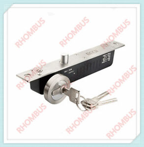 Electric Drop Bolt Strike Door Lock With Key Fail Secure No Time Delay signal