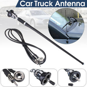 36cm Car Truck Rubber Mast Antenna Stereo Mount Aerial Replacement Universal