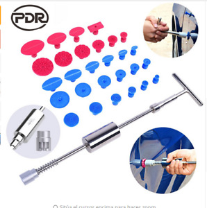Us Paintless Repair Pdr Tools Dent Puller Lifter Auto Car Body Hail Removalkit P