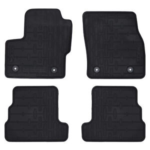 Oem New Front Rear All Weather Floor Mats Black Rubber 15 17 Mkc Ej7z7813300cb