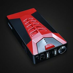 Portable Battery Jump Starter Auto Charger Motorcycle Car Booster Electronic Box