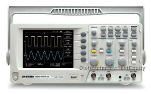 Instek Gds 1102 u 2 Channel 100 Mhz Digital Oscilloscope Stock Photo