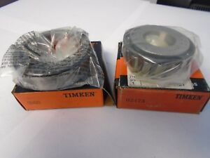 Timken Tapered Roller Bearing 02420 02473 Cup And Cone Set