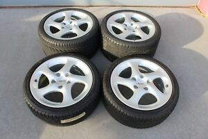 Oem Porsche 996 Turbo Wheels Twist With Tires Carrera 4s Any Offer Considered