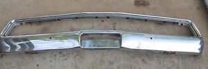 70 1970 Chrysler 300 Hurst Mopar Front Bumper And Grill Surround Nice