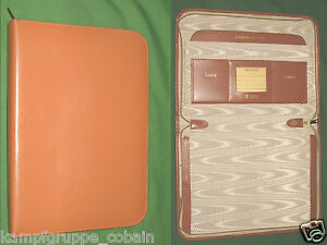 Vintage Note Pad Brown Top Grain Leather A m Planner Classic Franklin Covey