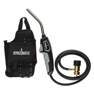 Bernzomatic 384401 Hose Torch Kit Propane mapp 5 Ft Hose