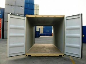New 20 Ft Double Door Container
