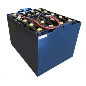 Electric Forklift Battery With Cover 18 85 31 wc 36 Volt 1275 Ah at 6 Hr