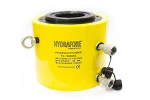 Double Acting Hollow Ram 10000psi Hydraulic Cylinder 60 Tons 4 Yg 15050ks