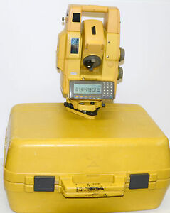 Topcon Gpt 8005a Prismless Robotic Total Station