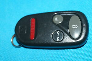 Honda Civic Accord Prelude Cr V S2000 Pilot Key Remote Fob 96 04 A269zua101