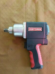 Craftsman 1 2 Inch Impact Wrench Air Powered 875 168820