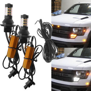 Dual Color Led For Turn Signal Light Drl For Ford F150 F250 F350 Switchback Kit
