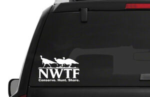 Nwtf Logo National Wild Turkey Federation Pro 2nd Hunting Nra Decal Sticker