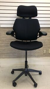 Humanscale Freedom Task Chair With Headrest With An Extended Height