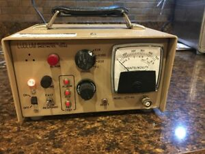 Ludlum 177 1 Count Rate Meter Radiation Geiger