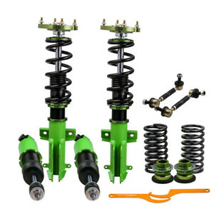 Racing Coilovers Kits For Ford Mustang 05 14 Adj Height Mounts W Z Sway Bar