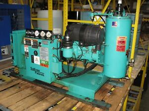 Sullivan Palatek Model 25d4 25hp Oil Lubricated Rotary Screw Air Compressor