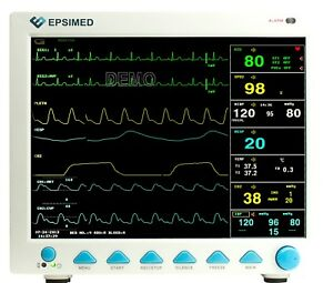 new Epsimed Fda ce Icu Multi parameter Vital Signs Monitor Cms8000