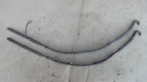 1926 1927 Model T Ford Gas Tank Straps Original Pair