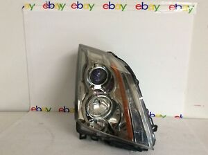 Cadillac Cts Right Side 2008 2014 Headlight Assembly Gm 22783445 Super Clean