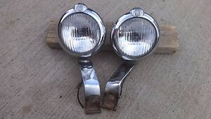 1948 1952 Studebaker Fog Lights Unity H 1 Original Champion Commander Starlight