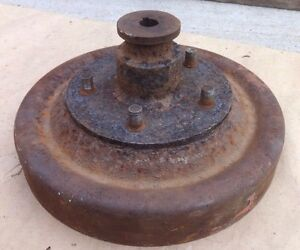 1926 1927 Model T Ford Rear Brake Drum Hub For Wire Spoke Wheel Original