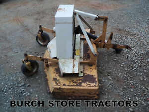 1 Pt Point Fast Hitch Woods Finishing Mower Farmall 140 130 Super A 100