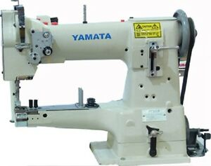 Yamata Gc335 10 Arm Cylinder Bed Walking Foot Sewing Machine Stand servo Motor