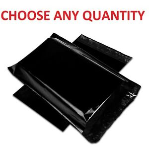 9x12 Black Poly Mailers Shipping Envelopes Self Sealing Mailing Bags 9 X 12