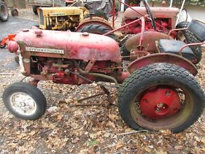 Farmall Cub Tractor With Wheel Weights Lo boy