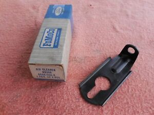 60 61 62 Ford Mercury 223 6 Cylinder Air Cleaner Brace Nos Ford C0ae 9663 A