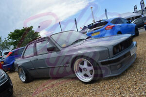 Bmw E30 Pandem Style Rear Boot Trunk Spoiler Ducktail Wing