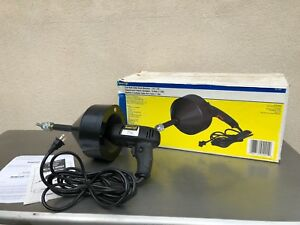 Brasscraft Handheld Electric Drain Cleaner Sewer Pipe Snake Bc110 Es
